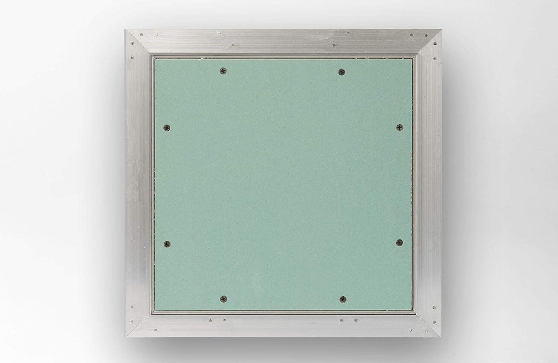 Akifix NAMCP04033-AZ Bol de inspecci/ón de cart/ón yeso con marco de aluminio serie Gr13 40 x 40 cm placa de 13 mm