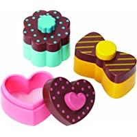 Torune Bento Sweet and Heart Sandwich Cutter Mold, Multicolor