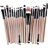 Westeng - Set di pennelli per make up, 20 pezzi, pennelli per trucco e cosmetici (fondotinta, ombretto, rossetto, ecc.)