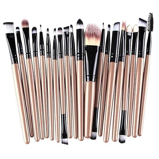 34 opinioni per Westeng- Set di pennelli per make up, 20 pezzi, pennelli per trucco e cosmetici