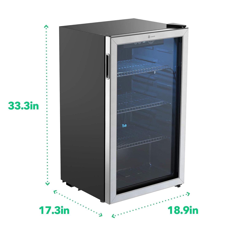 Vremi refrigerador de bebidas de 120 latas con capacidad de 3,2 ...