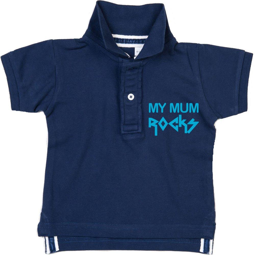 Racker-n-Roll - Polo - Bébé (garçon) 0 à 24 mois bleu bleu marine