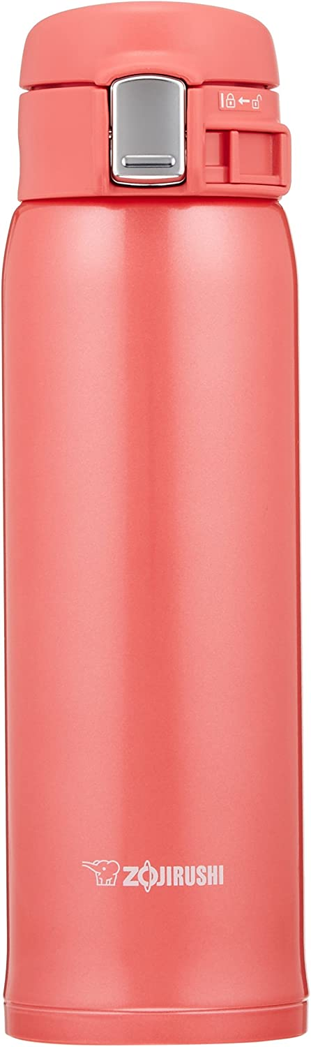 Zojirushi Stainless Mug 360ml Matte Gold SM-SD36-NM Water Bottle Straight Drink One-Touch Open