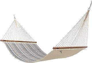 product image for Hatteras Hammocks Large Sunbrella Quilted Hammock - Milano Char
