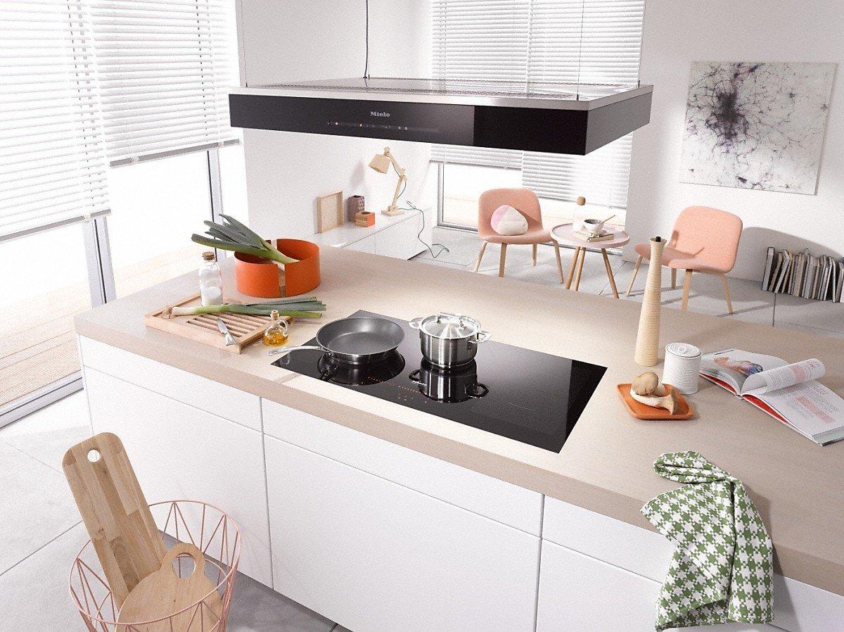 Miele-cocina de inducción Filotop KM 6389 de 90 cm: Amazon.es