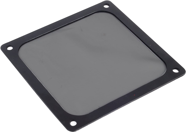 SilverStone SST-FF123B - Filtro ultra fino para ventilador de 120mm, imán, negro