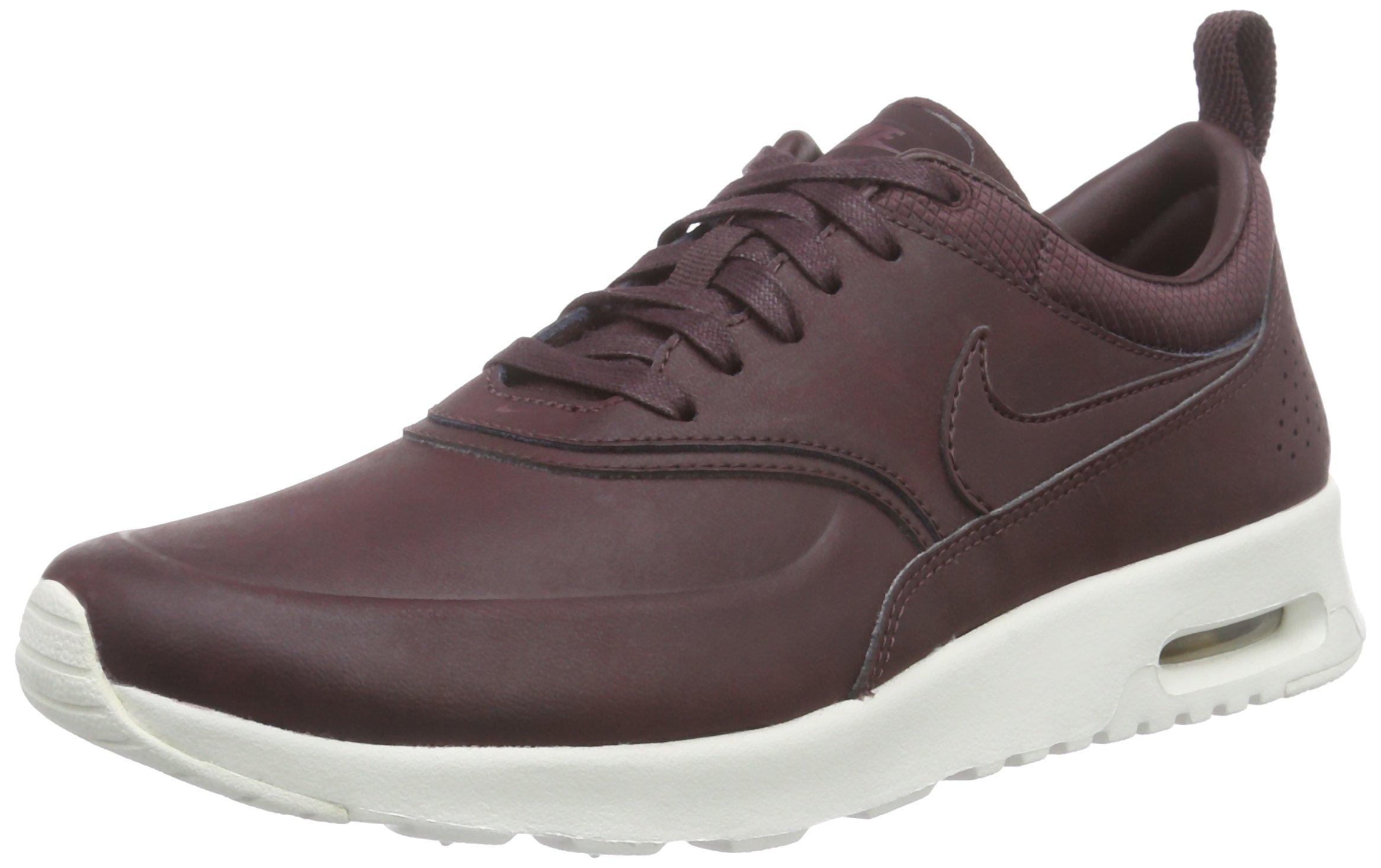 huge discount f454a 07b63 Galleon - Nike Women s Air Max Thea PRM Mahogany Mahogany Team Red Sl  Running Shoe 7 Women US
