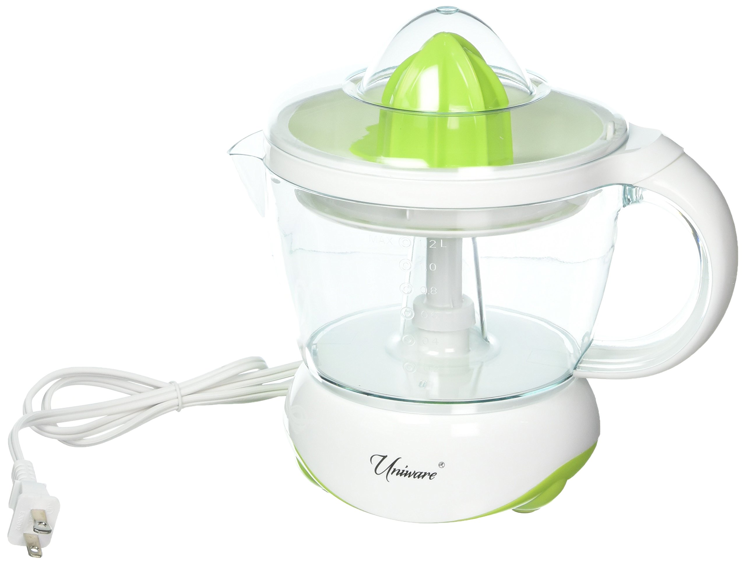 Uniware 8701GR 1.2L Electric Citrus Juicer, Make Fresh and Delicious Juice at Home!