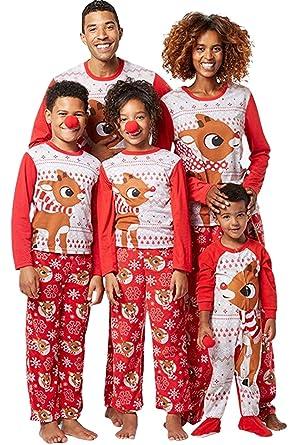 e835c4758bb7f Pyjama de Noël Famille Père Noël Mère Garçon Fille Nouveau-né Bébé Ensemble  Pyjamas de