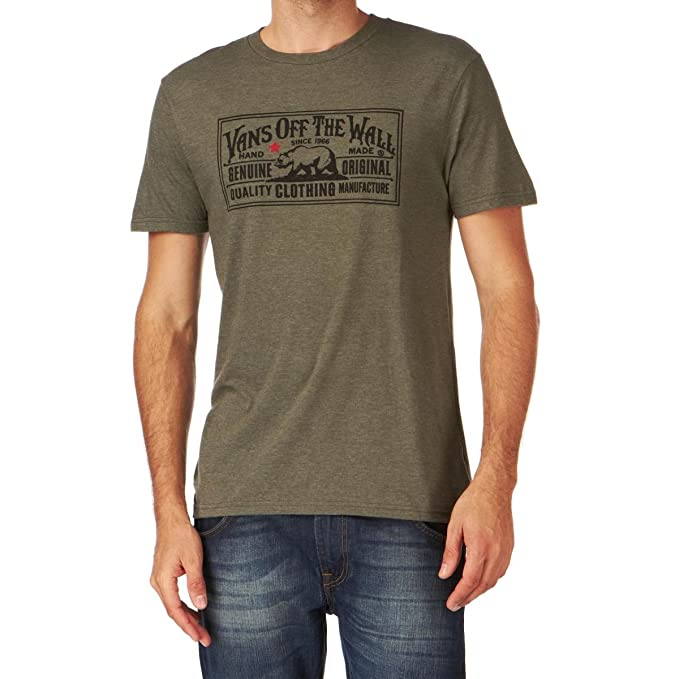 Vans Camisetas - Vans Vans Ltd. - Camiseta olivo... multicolor XXL: Amazon.es: Ropa y accesorios