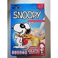 Snoopy Cereal de Hojuelas De Maíz Azucaradas 300 g Snoopy Armable Gratis Adentro De La Caja Colecciona Los 15 Diferentes