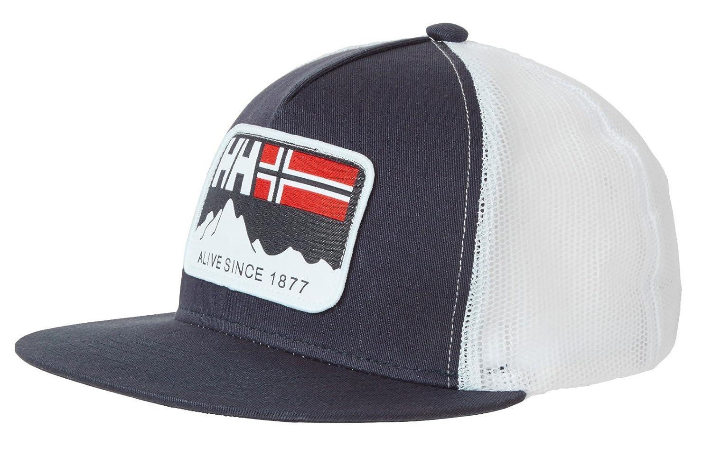 Helly Hansen HH Flatbrim Trucker 67155 Gorra de béisbol, Unisex ...
