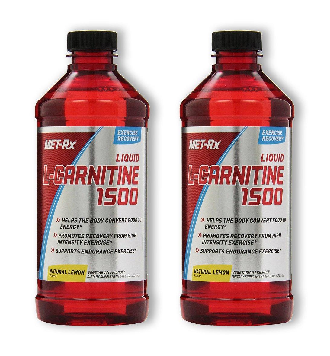 MET-Rx L-Carnitine 1500 - Lemon (2 Pack) by MET-Rx (Image #1)