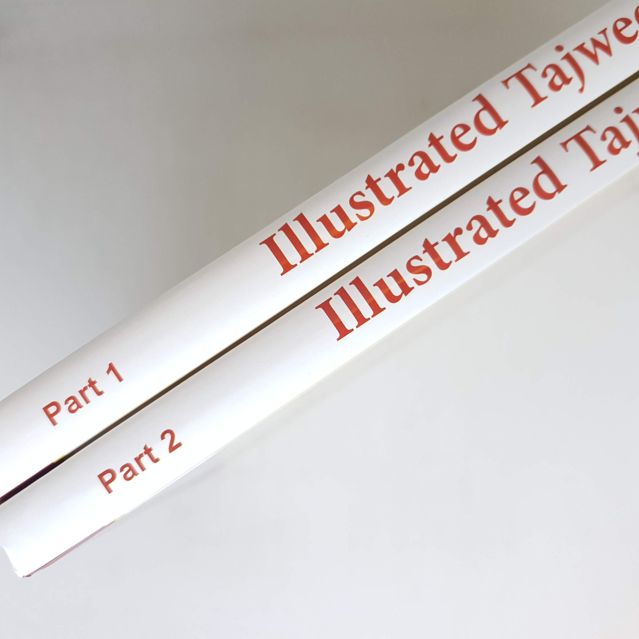 Illustrated Tajweed Two Volumes التجويد المصور باللغة الإنجليزية Dr Ayman Rushdi Swaid 9789933605216 Amazon Com Books