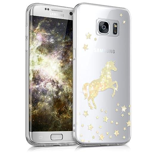 4 opinioni per kwmobile Cover per Samsung Galaxy S7 edge- Custodia in silicone TPU- Back case