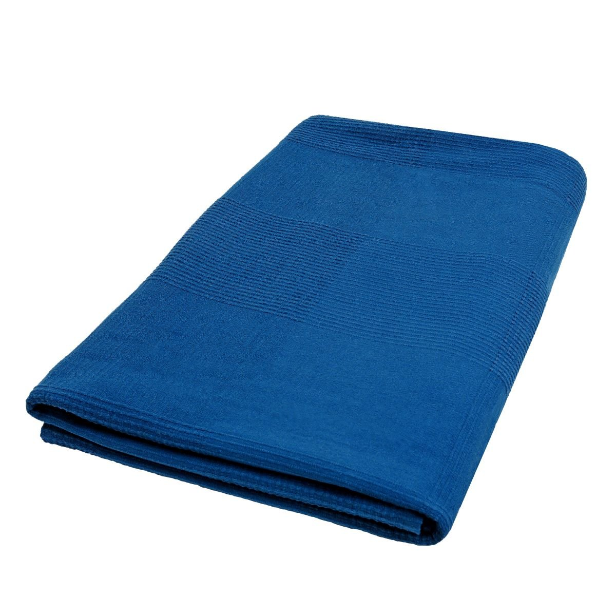 Tagesdecke Waffel Decke Sofaüberwurf Bettüberwurf aus 100% Baumwolle ...