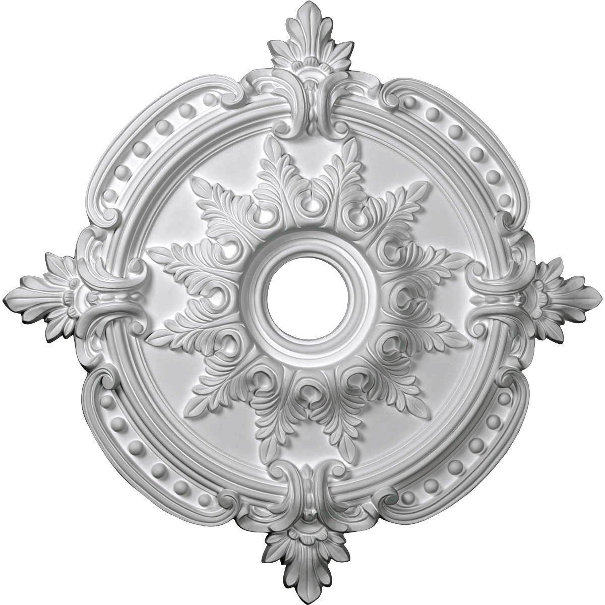 Ekena Millwork CM28BE Ceiling Medallion Primed