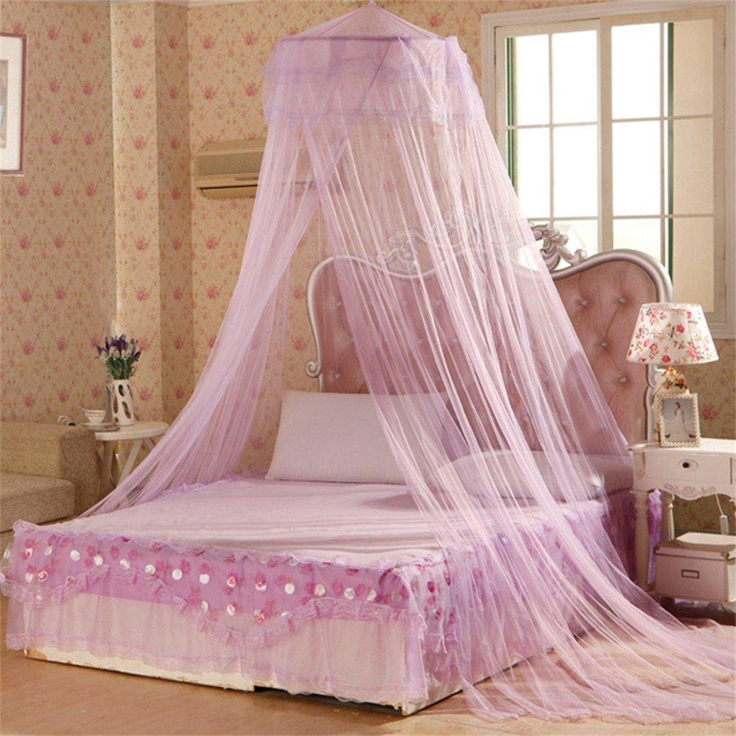 Moustiquaire pour lit Gemini _ Mall® , rose, Taille unique Gemini_mall
