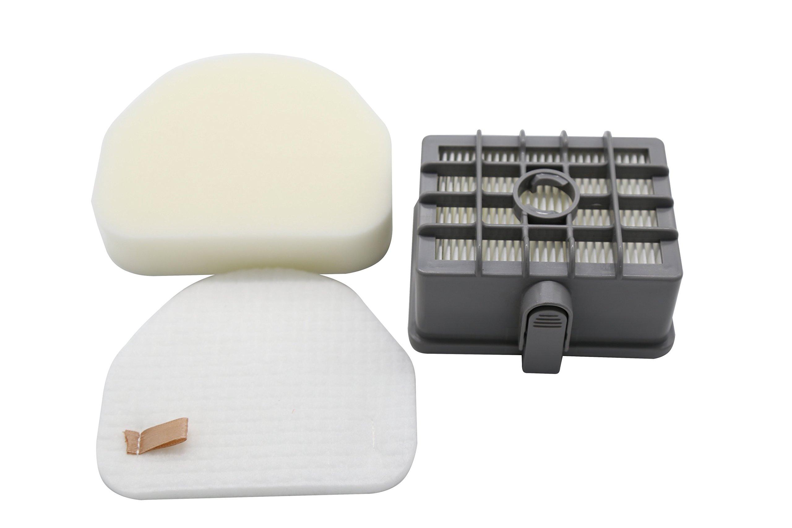 (1 Set) SHARK NV450 Filter Kit: 1 HEPA XL Rotator Filter, 1 Foam & 1 Felt Filter, Fits Shark NV450 XL Vacuums, Compares to Parts # XHF450 & XFF450. Genuine Gold Line filters.