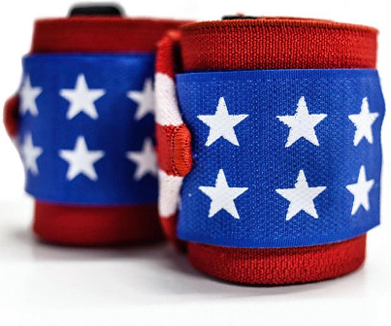 Bandera de Estados Unidos – Muñequeras (par) por billzan – 18