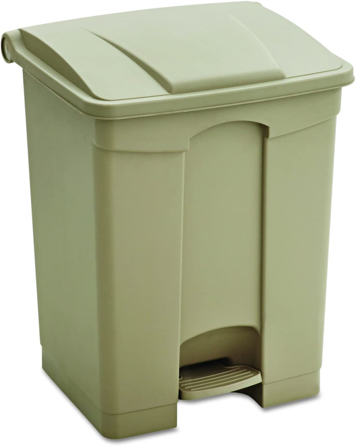 Safco Products Products Plastic Step-On 9922BL 17-Gallon