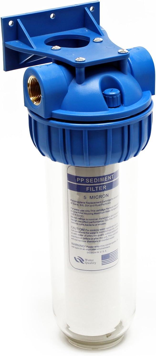 Naturewater NW-BR5B-S Filtro de agua 1-Etapa 20.67mm (1/2 ...