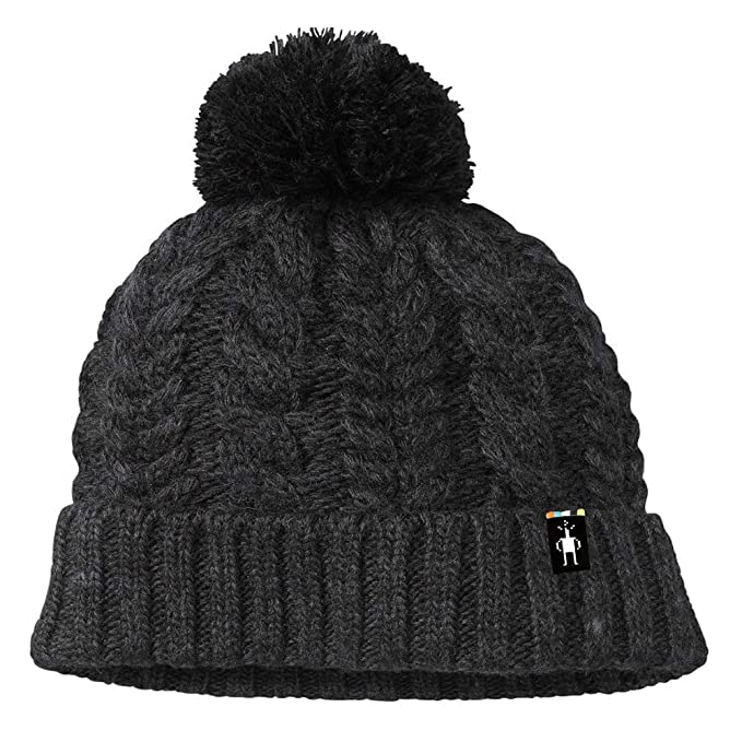 Amazon.com  SmartWool Ski Town Hat (Charcoal Heather) One Size ... c0f004a0e0