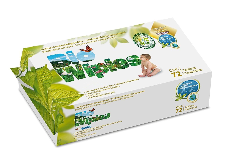 Toallitas Húmedas Biodegradables- Bolsa de 72 piezas: Amazon.es: Salud y cuidado personal
