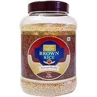 Golden Harvest Rice - Brown, 1kg Bottle