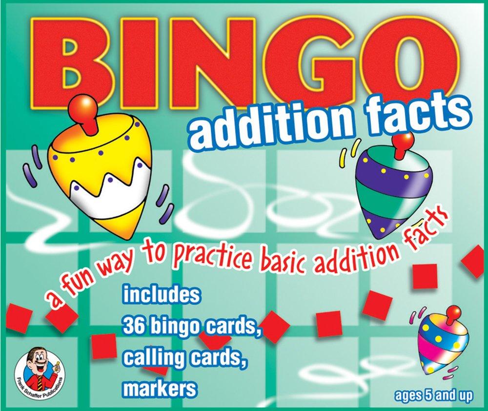 Amazon.com: Addition Facts 0-18 Bingo: Frank Schaffer Publications ...