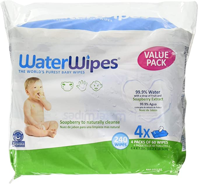 WaterWipes baby wet wipes