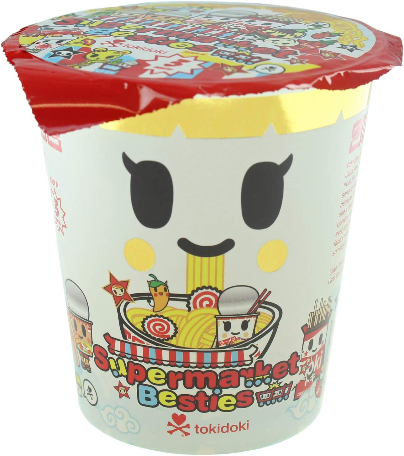 "Tokidoki Supermarket Besties Hotty Chaser 3/"" Mini Vinyl Figure Blind Box Toy"