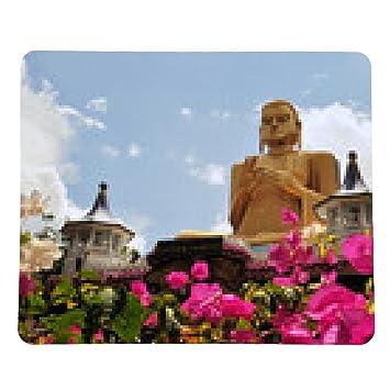 alfombrilla de ratón Buda de oro de Dambulla, Sri Lanka ...