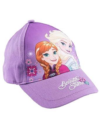 3b6e99c86b72a La Reine des Neiges Casquette Enfant Fille Elsa Violet de 3 à 9ans - Violet,