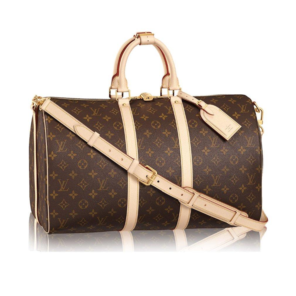 df0de2bfc41c Louis Vuitton Monogram Canvas Cross Body Handle Keepall Bandoulière 45 Made  in France  Handbags  Amazon.com