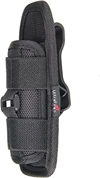 Military Tactical Flashlight Torch Belt Holster Holder Case Pouch Pack Portable