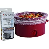PanSaver 24 Pack Disposable Slow Cooker Liners Crockpot Liners Small Quart Cookers Liners with a Sure Fit Band - FDA certified, NSF approved, KOFK Certified Kosher