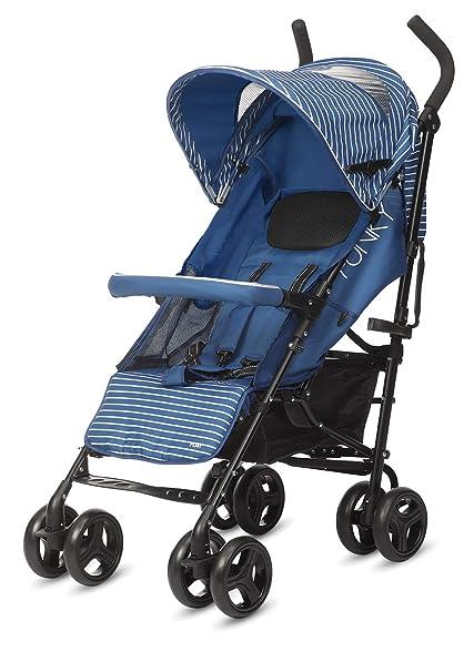 Play Funky - Silla de paseo plegable tipo paraguas, Color Nautic Blue