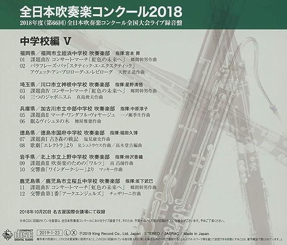 結果 2019 福岡 コンクール 吹奏楽