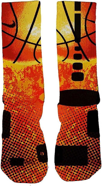 Custom Nike Elite Street Ball socks at