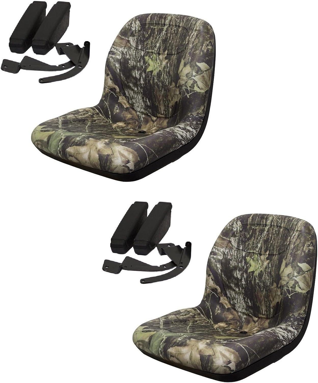 New Camo HIGH BACK Seat for John Deere Gator Gas Diesel Model 4x2 4x4 HPX TH 6x4