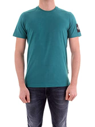 e0aaffe76 The North Face - Camiseta - Fine 2 tee - Verde: Amazon.es: Ropa y ...