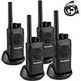 Firward Updated Walkie Talkies for Adults Long Range Walkie Talkie Rechargeable 4 Pack 2 Two Way Radios Up to 5 Miles in The