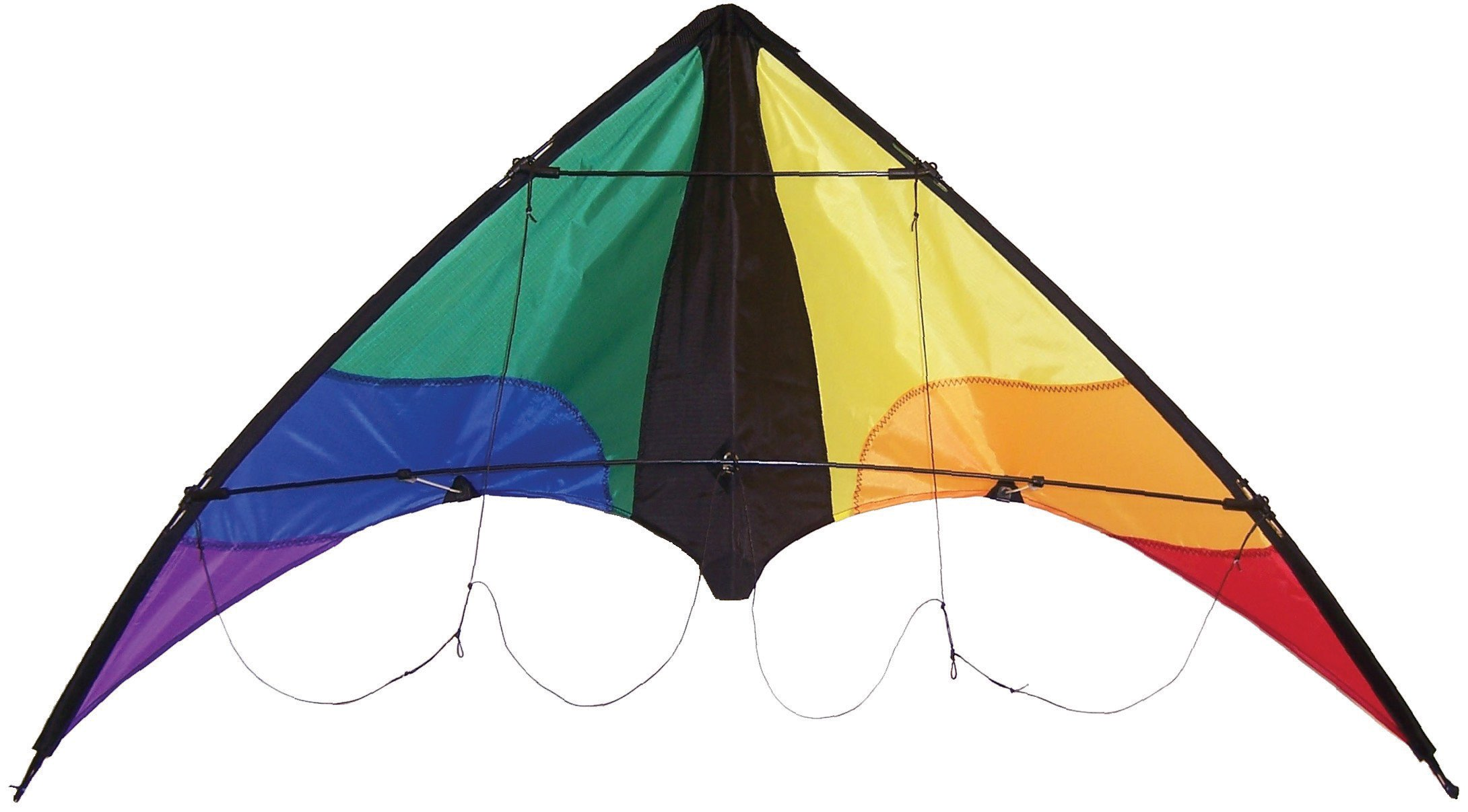 In the Breeze Colorwave 48 Inch Stunt Kite - Dual Line Sport Kite - Includes Kite Line and Bag by In the Breeze
