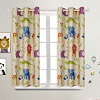 BGment Printed Curtains for Living Room, Bedroom, Kids Curtains