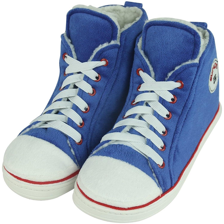 Gohom - Zapatillas de estar por casa para hombre, color naranja, talla 37 EU (Longitud única:24 cm)