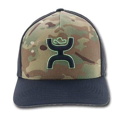 a6f2f0f6b9c HOOey Chris Kyle 017 Camo Flexfit Hat at Amazon Men s Clothing store