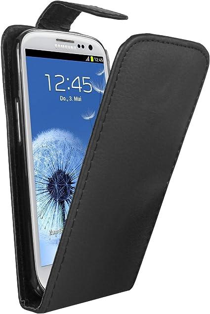 Membrane - Noir Étui Coque compatibles avec Samsung GT-i9300 / i9300 Galaxy S3 III 2 Protection d'écran