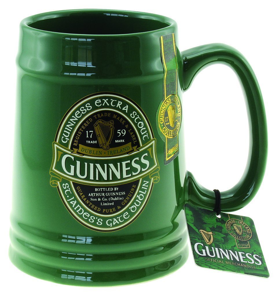 Guinness Ireland Collection - Ceramic Tankard Guinness Official Merchandise GNS5343