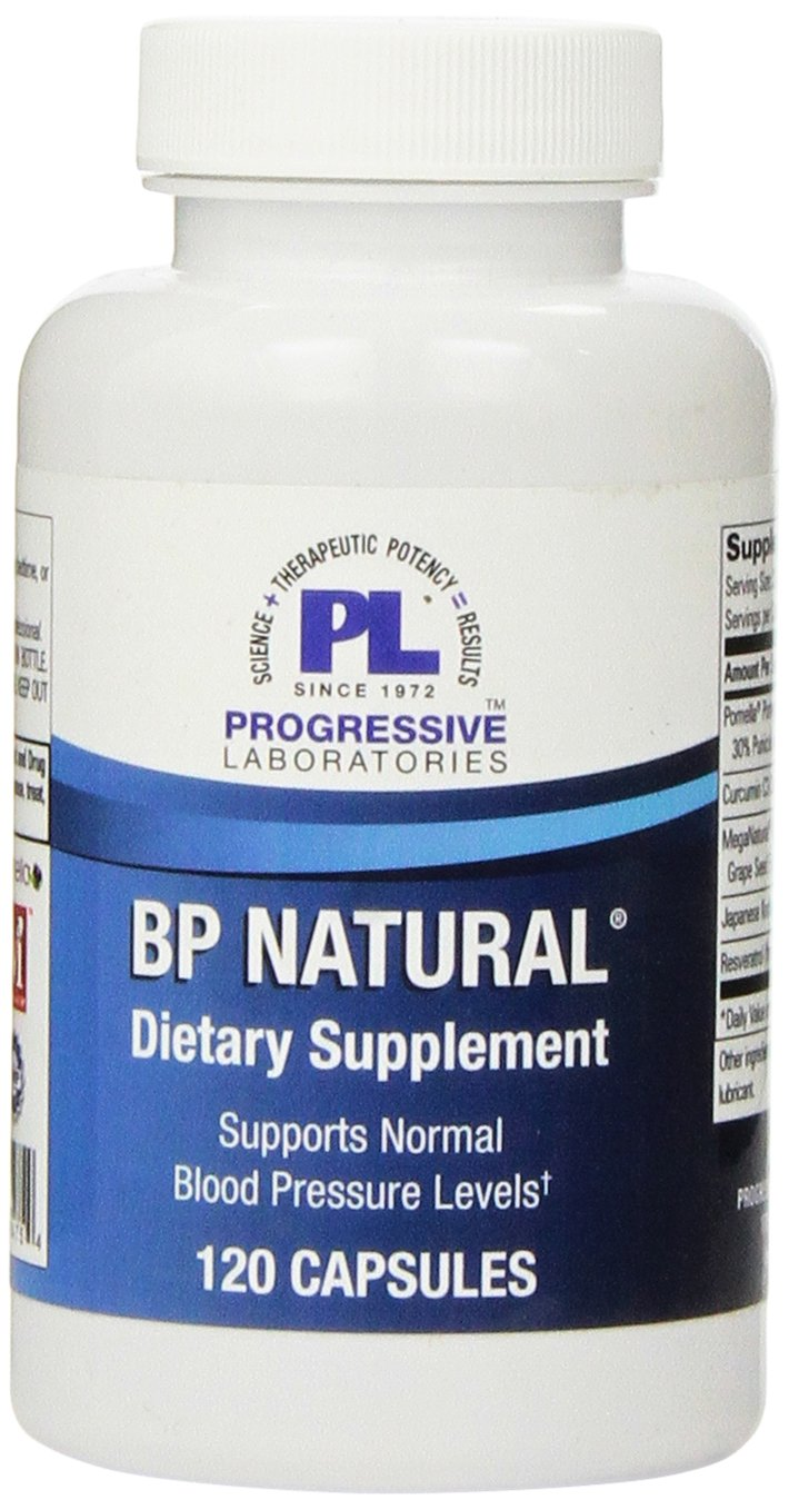 Progressive Labs BP Natural Supplement, 120 Count